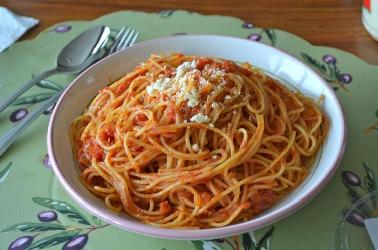 TB pasta
