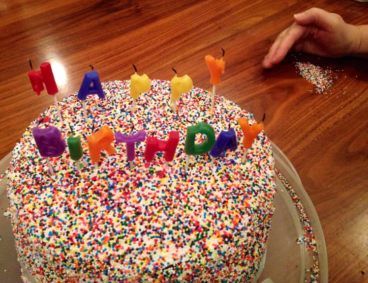 cake spill