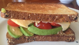 Milk & Honey's Avocado & Smoked Gouda Sandwich